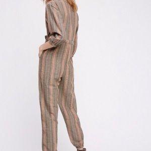 Free People Pants - FREE PEOPLE Woman's Loveland Stripe Jumpsuit 💖